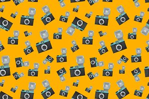 Lomography film camera pattern