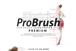 Sketch ProBrush™ PREMIUM