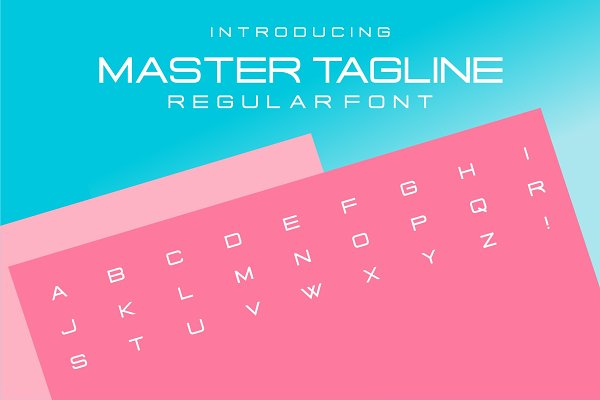 Master Tagline