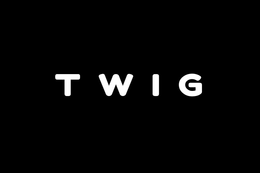 TWIG - Display / Headline Typeface