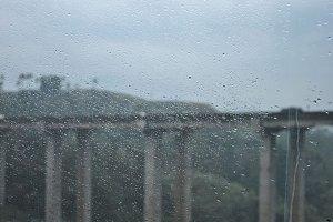 Dew on Glass Railways (Bridge)