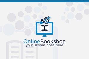 Online Book Shop Logo