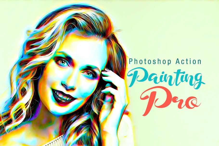 Painting Pro Photoshop Action