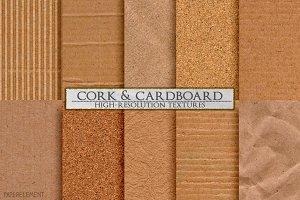 Cork & Cardboard High-Res Textures