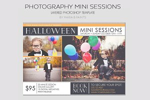 Mini Photography Sessions Template
