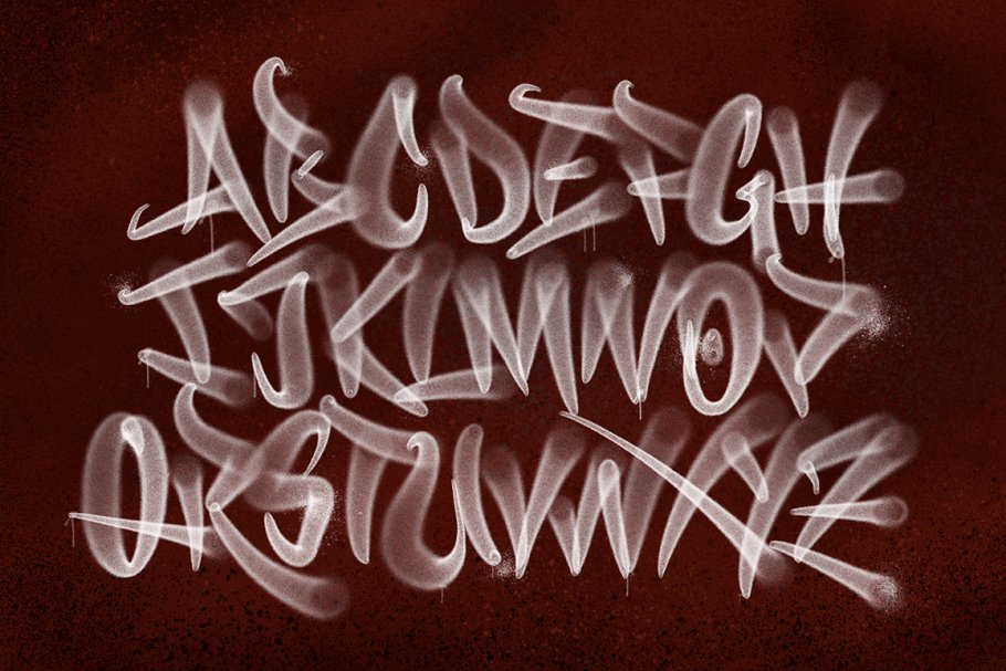 Handstyle Graff Procreate Brush Set in Add-Ons - product preview 4