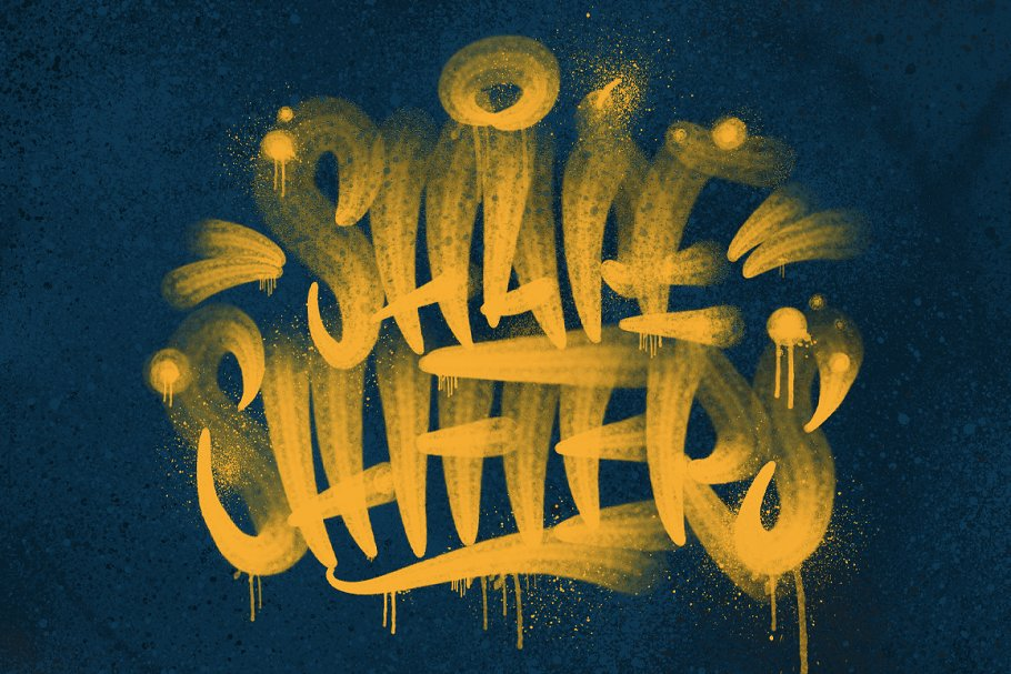 Handstyle Graff Procreate Brush Set in Add-Ons - product preview 7