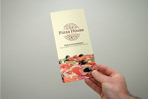 Trifold Pizza Menu/Flyer