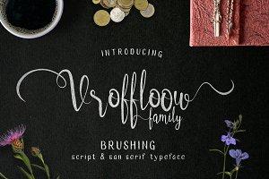Vroffloow family Typeface