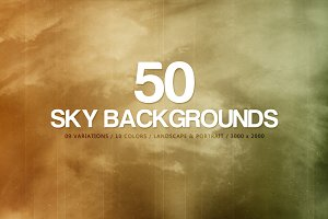 50 Sky Backgrounds