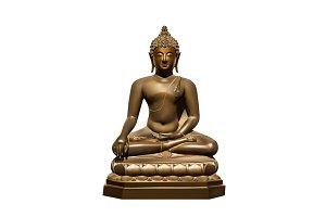 Statue of Buddha Subdoing Mara