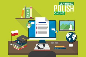 E-learning Polish language.