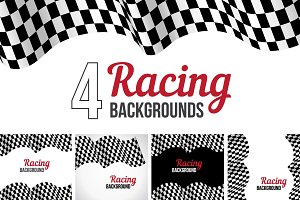 4 Racing backgrounds