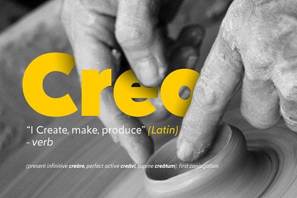 Creo | Classic Proportioned Sans