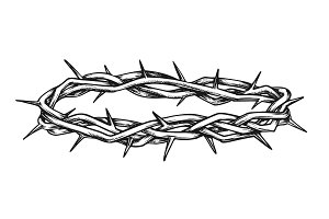 Crown Of Thorns Religious Symbol