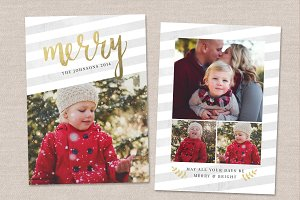 Christmas Card Template CC039