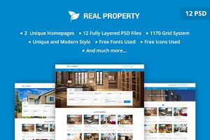 Real property PSD Template