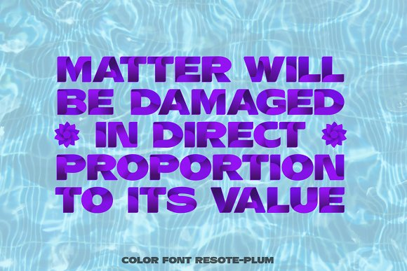 Color fonts ResotE-Fruits in Display Fonts - product preview 5
