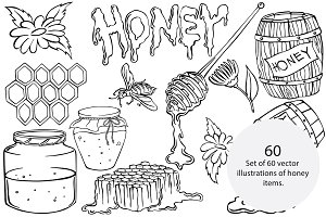 Honey elements