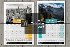 Wall Calendar 2016 (WC07)