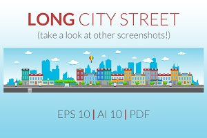 Long City Street