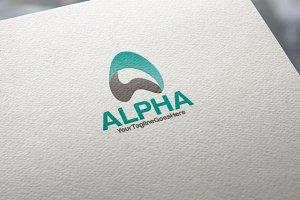 Alpha Logo  |  Letter A