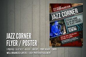 Jazz Corner Flyers / Poster