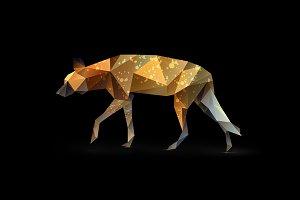 Wild African Dog.