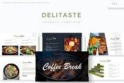 Delitaste - Keynote Template