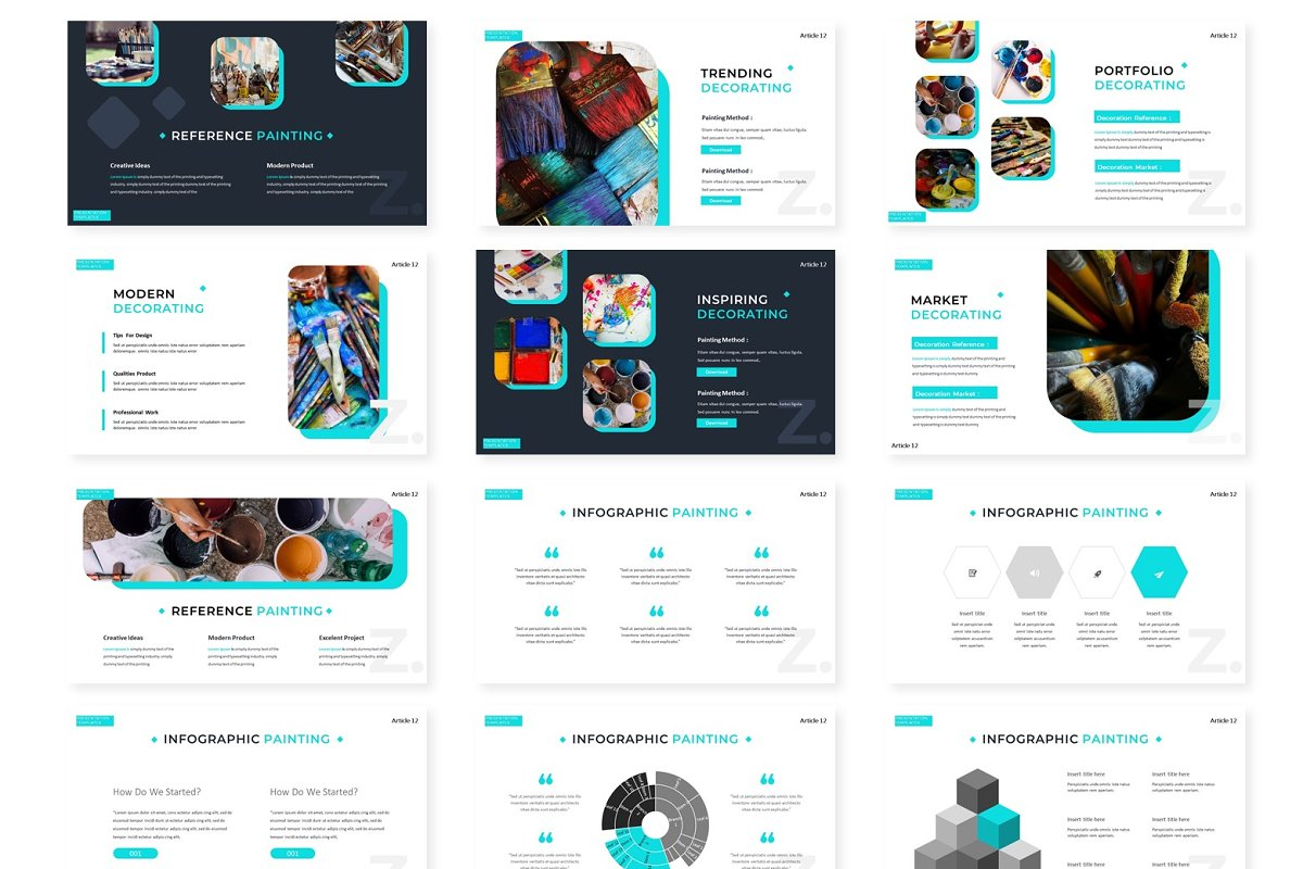 Illinoise - Powerpoint Template in Presentation Templates - product preview 2