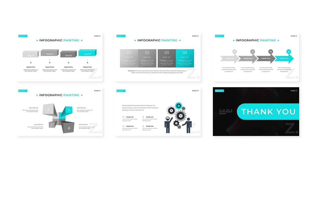 Illinoise - Powerpoint Template in Presentation Templates - product preview 3