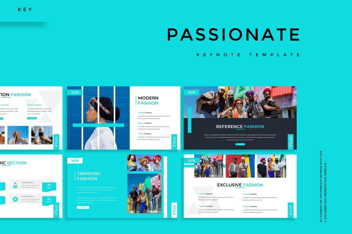 Passionate - Keynote Template