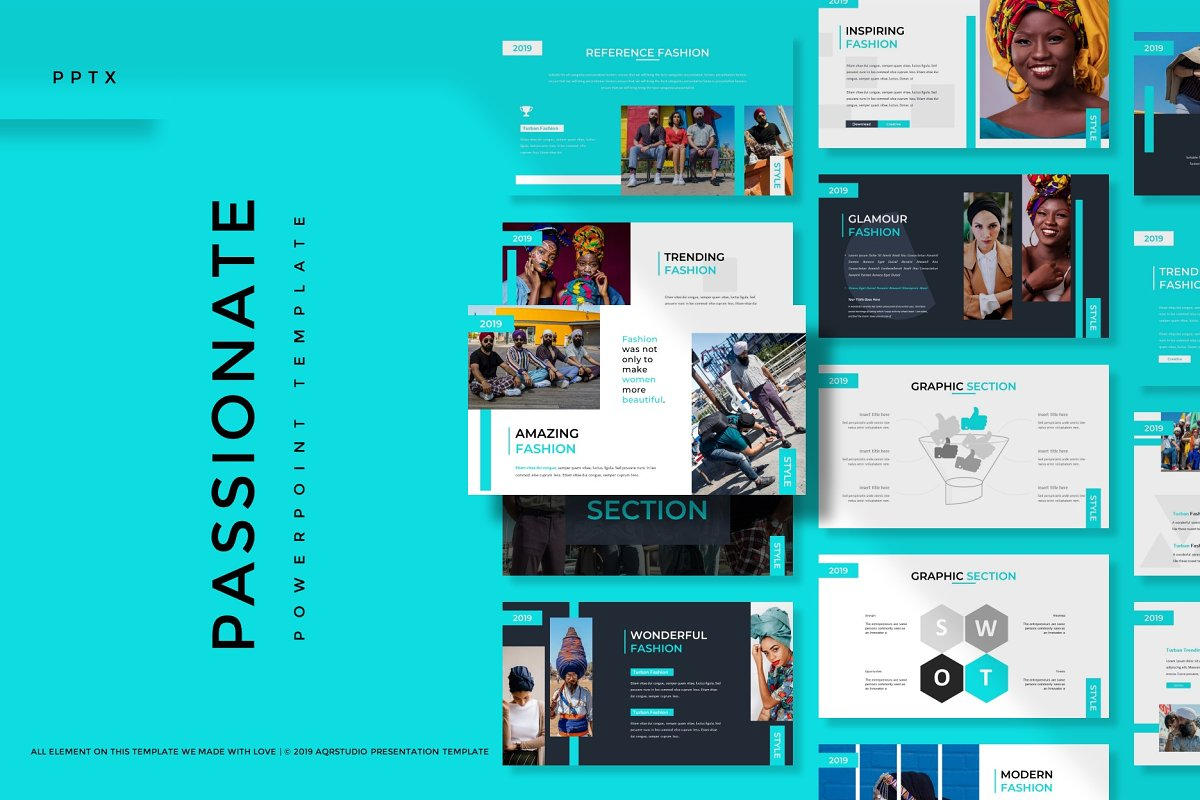 Passionate - Powerpoint Template