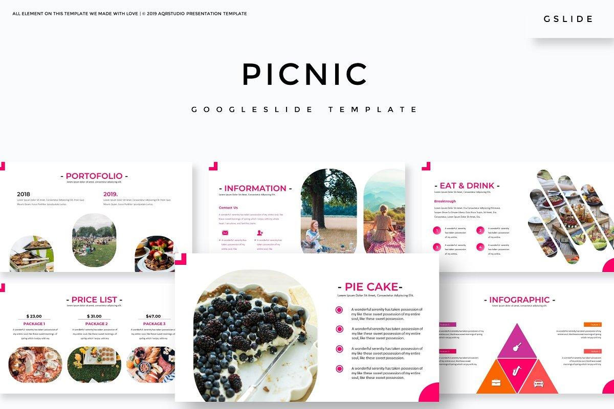 Picnic - Google Slides Template