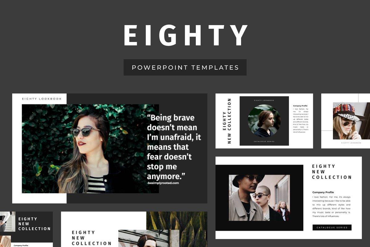 Eighty Creative PowerPoint Template