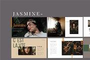 Jasmine Lookbook - Fashion Powerpoin