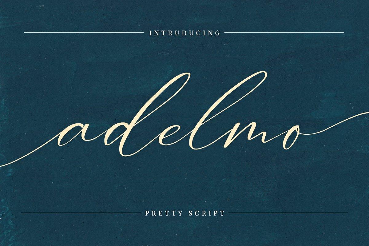 Adelmo - Pretty script