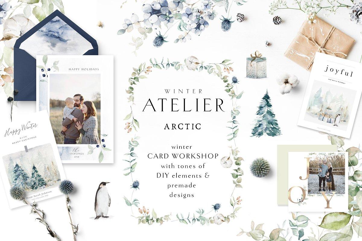 Arctic Winter Atelier in Illustrations