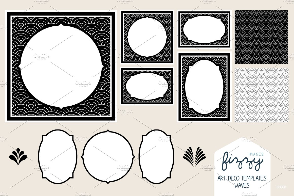 Free art deco templates choice image template design ideas for Free microsite templates