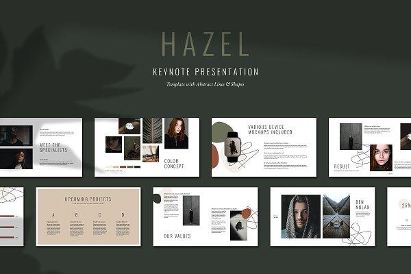 HAZEL Keynote Template