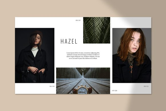 HAZEL Keynote Template in Keynote Templates - product preview 1