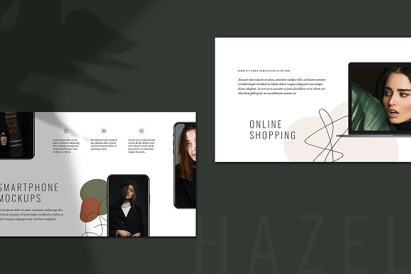 HAZEL Keynote Template in Keynote Templates - product preview 2