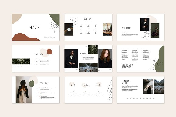 HAZEL Keynote Template in Keynote Templates - product preview 3