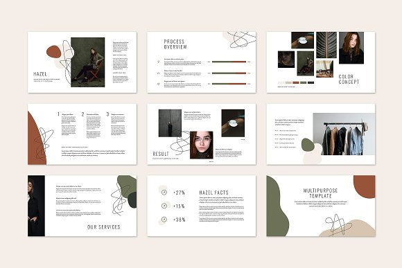 HAZEL Keynote Template in Keynote Templates - product preview 5