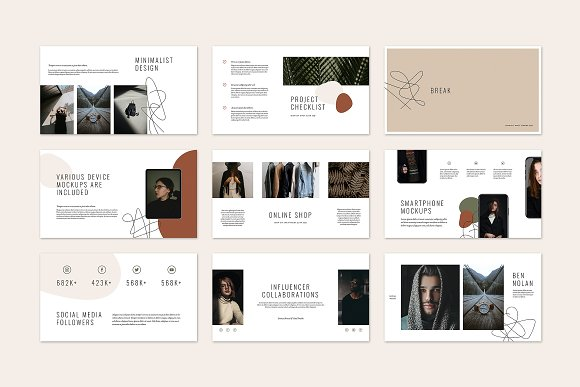 HAZEL Keynote Template in Keynote Templates - product preview 6
