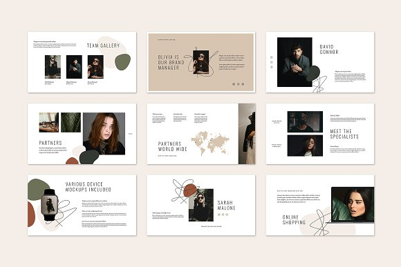 HAZEL Keynote Template in Keynote Templates - product preview 7