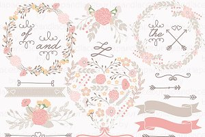 Wedding shabby chic