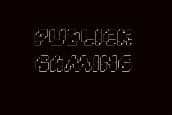 Custle Guard - Retro Bitmap Typeface in Display Fonts - product preview 1
