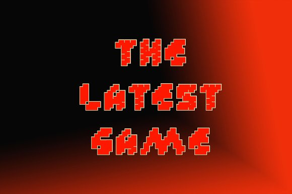 Custle Guard - Retro Bitmap Typeface in Display Fonts - product preview 3