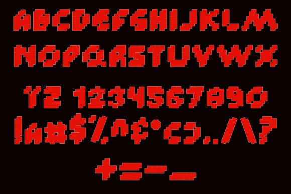 Custle Guard - Retro Bitmap Typeface in Display Fonts - product preview 4